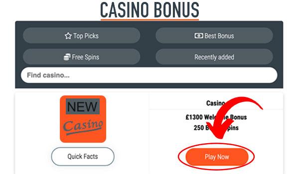 new UK Casino step 3