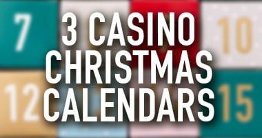 casino christmas calendars