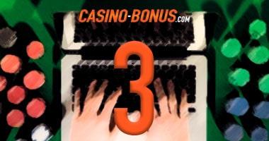 3 reasons online gambling