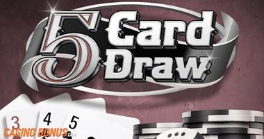 5 card draw poker casino