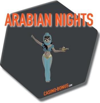 arabian nights netent slot game