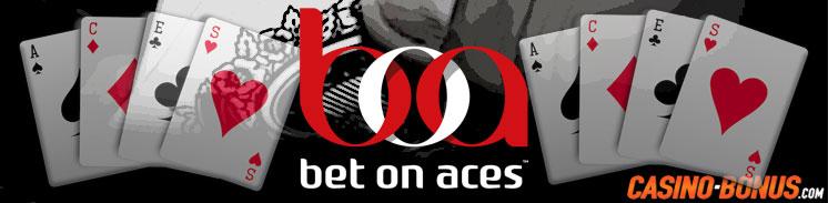 bet on aces bonus free spins