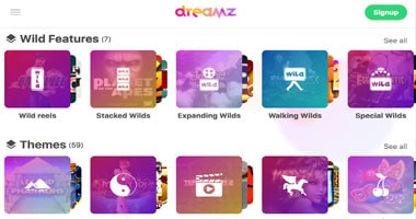 dreamz game selector