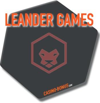 leander game provider online casino