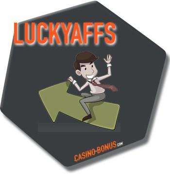 luckyaffs affiliation program casino