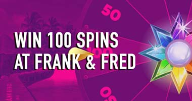 win frank fred 100 spins
